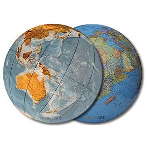 Columbus Floor globe Duo 51cm (English)