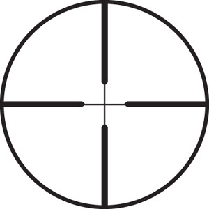 Lunette de visée Leupold FX-II 2x20 Handgun, argent, réticule Duplex