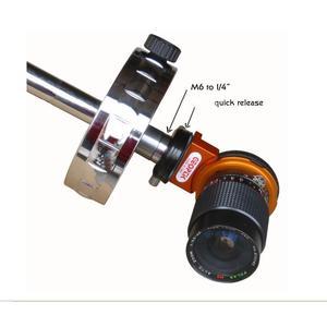 "Geoptik Camera bracket Counterweight shaft adapter, 0.25"" to M6"