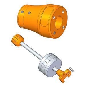 Geoptik Adapter für Gegengewichtsstange 25mm