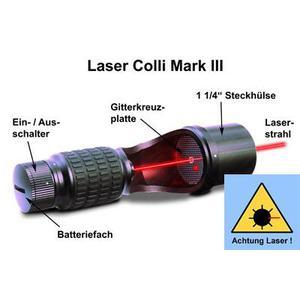 Baader collimatore laser Planetarium per telescopi newtoniani e SC