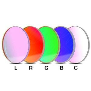 Baader Filters LRGBC-H-alpha 36mm 7nm OIII and SII  filter set