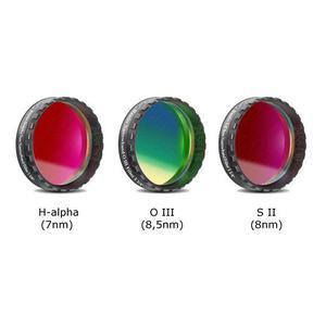 """Baader Set de filtros de banda estrecha CCD H-Alfa 7nm 1,25"""", OIII y SII"""