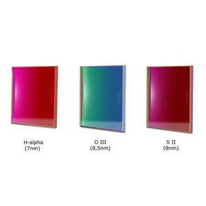 Baader Filtro Set filtri banda stretta OIII e SII 50x50mm CCD H-alpha 7nm