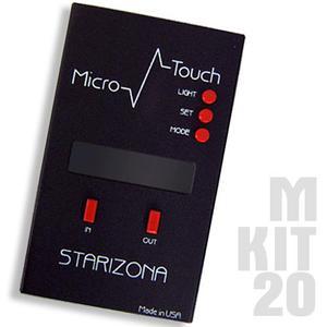 Starlight Instruments Micro Touch - Ensemble de commande (2 pcs) pour porte-oculaires 50,8 mm, rééquipements MPA et Feather Touch micrométriques - FILAIRE