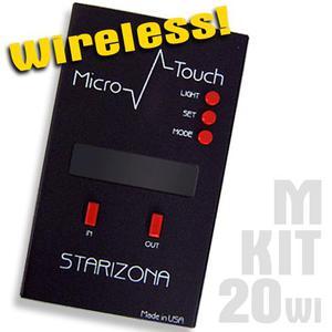 Starlight Instruments Micro Touch - Ensemble de commande (3 pcs) pour porte-oculaires 50,8 mm, rééquipements MPA et Feather Touch micrométriques - SANS FIL
