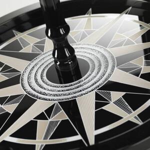 Zoffoli Barglobus Elegance Black/ Warm Grey 40cm