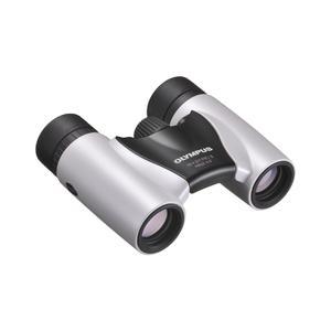 Olympus 8x21 RC II Slim binoculars, pearl white, incl. case