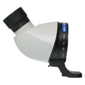 Lens2scope , per Canon EOS, bianco, visione diagonale