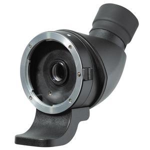 Lens2scope , for Nikon F, black, angled view