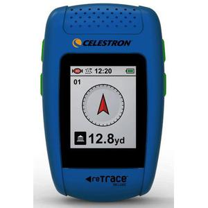 Celestron reTrace Deluxe GPS Fährtensucher inkl.digit.Kompass, blau