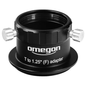 "Omegon Visual T male to 1.25"" female with set screw"