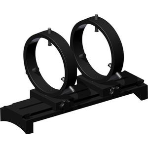 Omegon Guiding set with plate, guiding 110 mm rings, adapter block and dovetail sliding adapters for C11