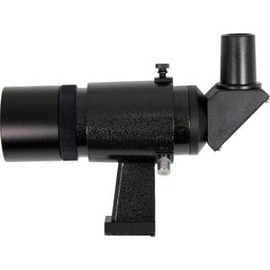 Omegon 9x50 angled finder scope with upright and non-reversed image, black