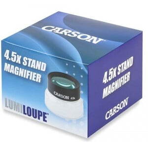 Carson Lente d`Ingrandimento LumiLoupe 4.5x