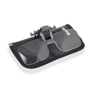Carson Magnifying glass Clip & Flip 2x