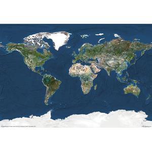 Planet Observer Mappa del Mondo Planisfero