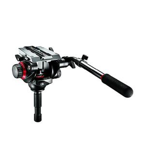 Manfrotto Treppiede Carbonio 504HD,536K con testa video e base livellante