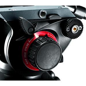 Manfrotto 504HD Video Testa Pro Fluid con piastra cambio rapido 501PL