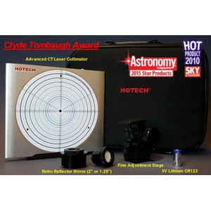 "Hotech Advanced CT laser collimator for 1.25"" focuser with fine adjustment"