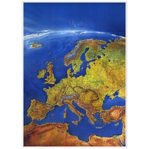 Bacher Verlag Carte des continents Europe MAIR Panorama