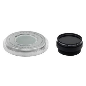 Optika Set polarizzazione (filtro e tavolino girevole)