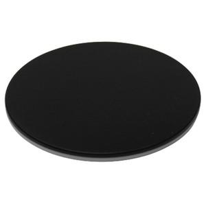 Optika ST- 12 tavolino portaoggetti bianco/nero, modello 2, diametro 95mm per SZM