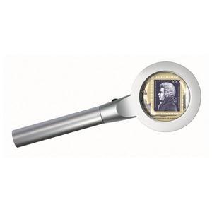 Bresser LED Lupe beleuchtet 2,5x, 55mm