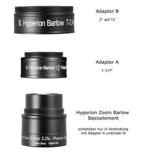 Baader Lentille de Barlow Hyperion Zoom - 2,25 fois