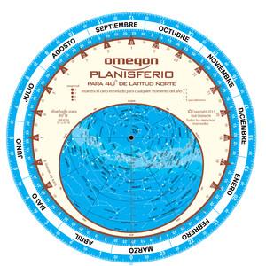 Omegon Mapa estelar Planisferio