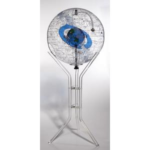 Columbus Planetarium with acrylic plastic stand - stand model