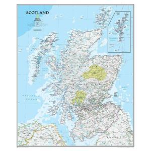National Geographic Mappa Scotland (laminated)