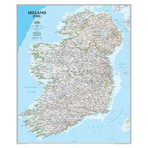 National Geographic Mappa Irlanda