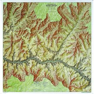 National Geographic Mapa regional Grand Canyon