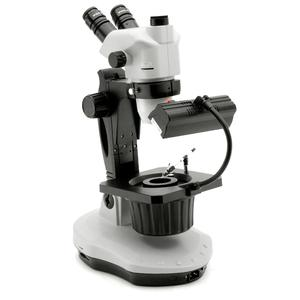 Optika Microscopio stereo zoom OPTIGEM-3, bino, fluo, 5,7-45x, wd 110