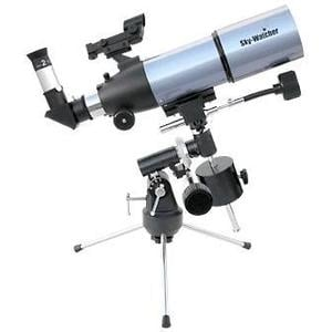 Skywatcher Teleskop AC 80/400 StarTravel EQ-1 + Tischstativ