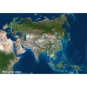 Planet Observer Asia map