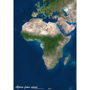 Planet Observer Continent map Africa