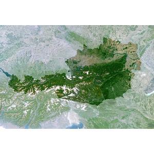 Carte géographique Planet Observer Planète Observer Autriche