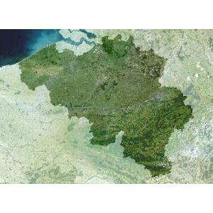 Planet Observer Landkarte Belgien