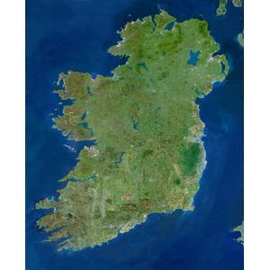 Planet Observer Landkarte Irland