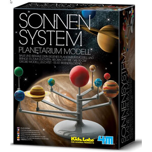HCM Kinzel Kit Planetario Sistema solare - Scatola di montaggio - luminoso