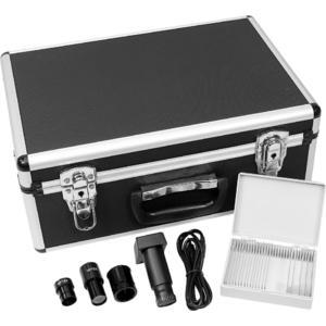 Omegon Microscoop MonoView MonoVision, camera, achromatisch, 1534x, LED