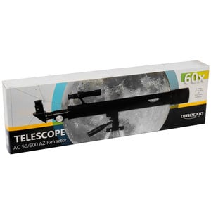 Omegon Telescopio AC 50/600 AZ