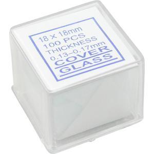 Omegon Deckgläser 18x18mm