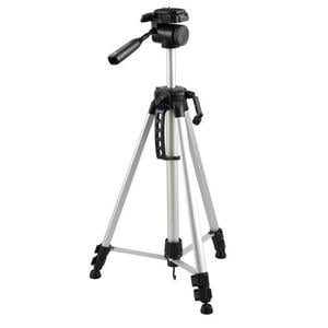 Omegon aluminium tripod with tilt head, silver