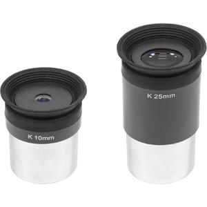 Omegon K 10mm and K 25mm eyepiece set