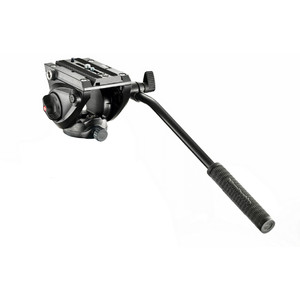Manfrotto Testa video fluida MVH500AH, a base piatta