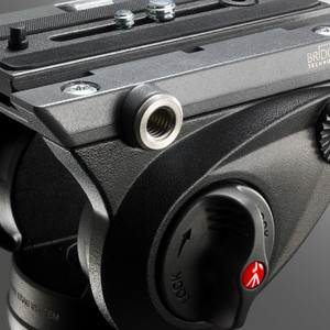 Trépied en aluminium Manfrotto MVH500AH,755XBK avec tête vidéo