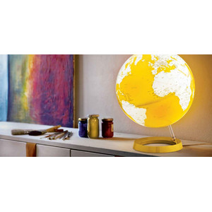 Räthgloben 1917 Globo Light&Colour Yellow 30cm